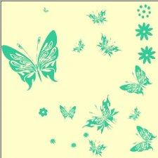 海之氧硅藻泥花海系列之花艺图案四